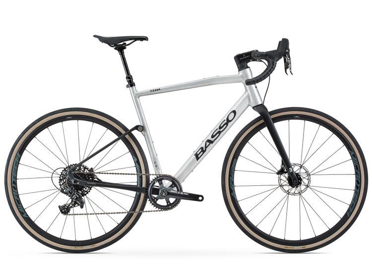 Basso' Tera Is a Semi-Suspension Aluminum and Carbon All Road