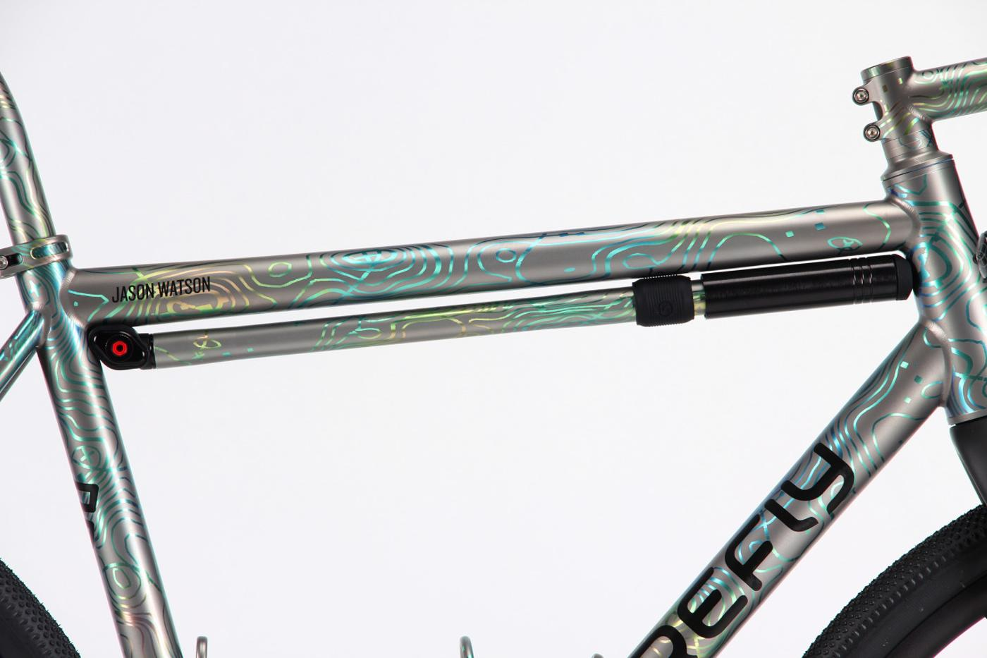 Firefly Bicycles: Topography Anodizing