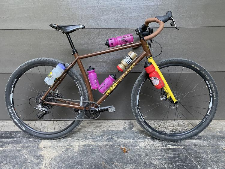 Readers' Rides: Bicycle Pubes' Enforcer Cycles Sendy Grav Grav Cruncher