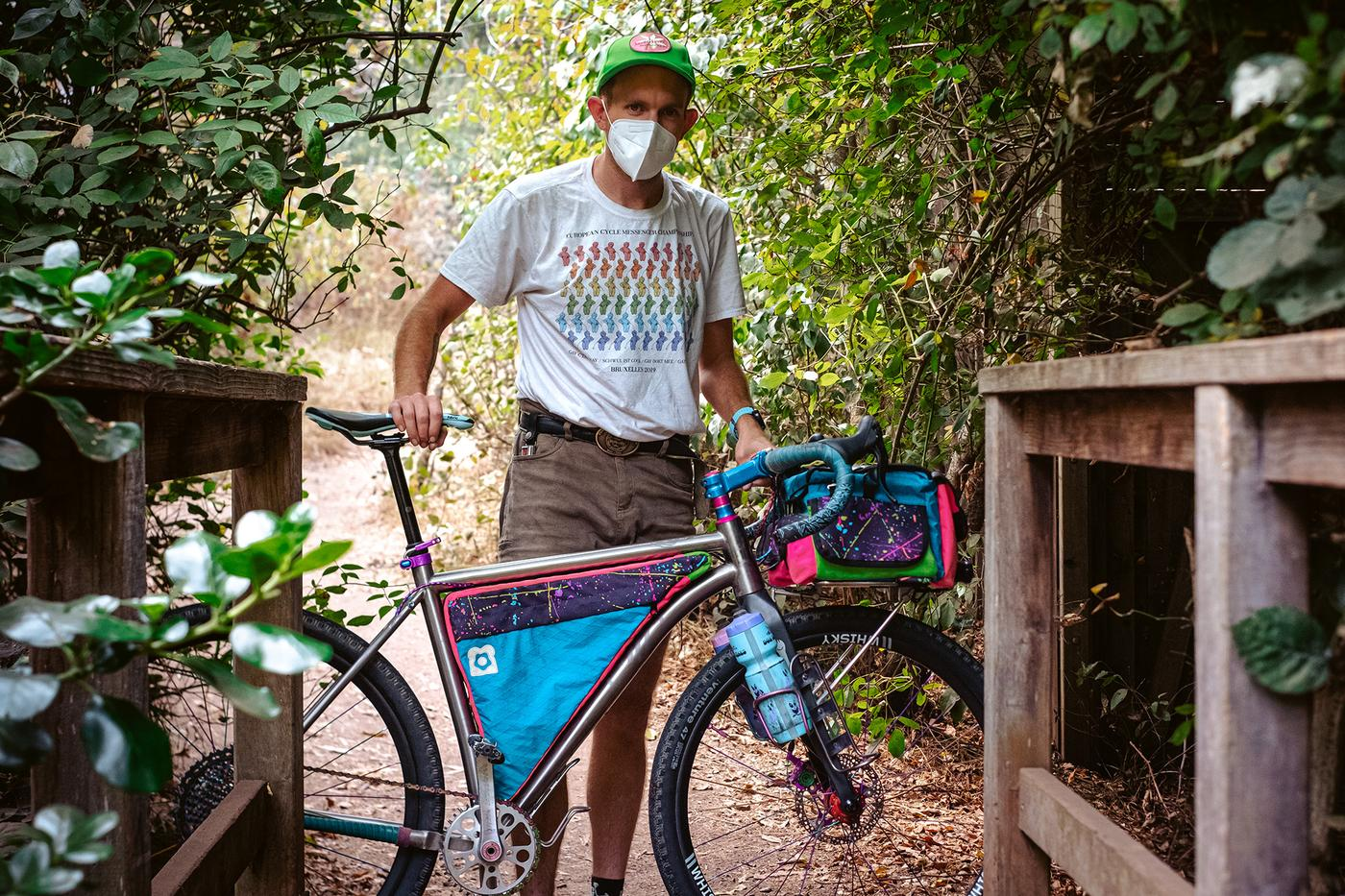 Lisa Frank Mechanical Mullett: Marc's Why Cycles R+ Touring Bike