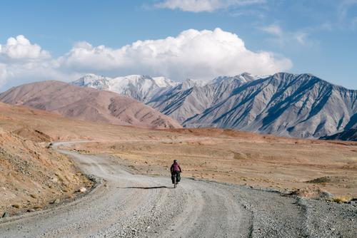 Floating along the Pamir Highway