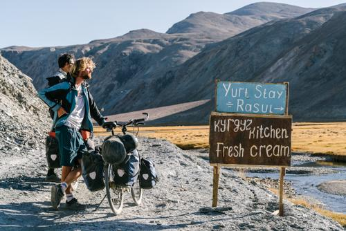 Kyrgyz Cream in Tajikistan