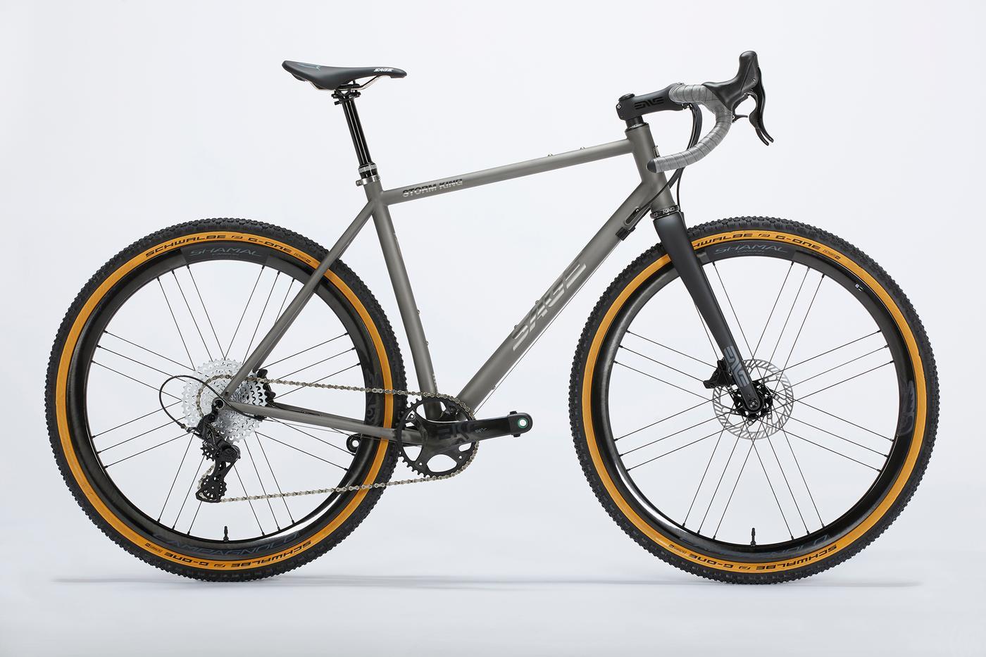Sage Titanium offers Campagnolo Ekar 13-Speed on their Gravel Bikes