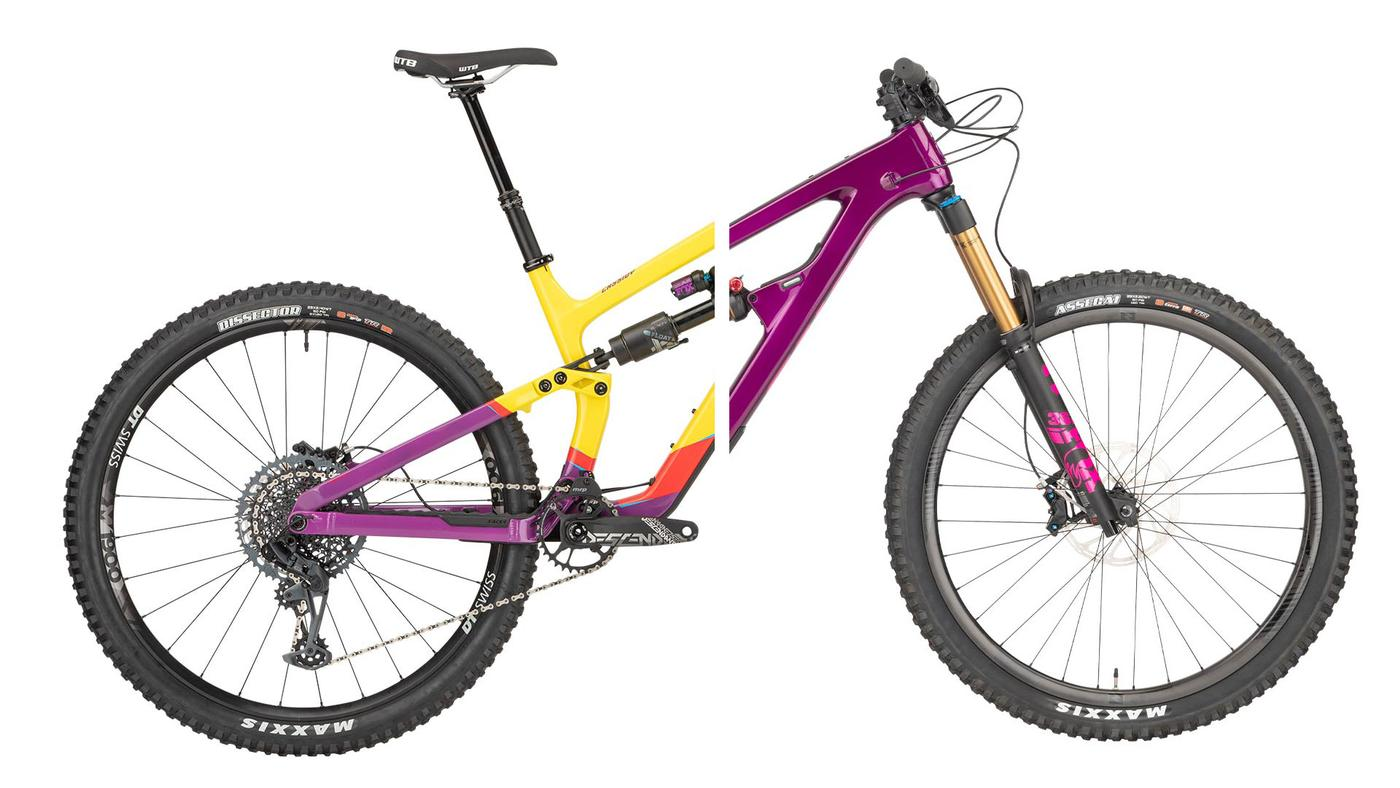 Salsa Cycles: the New Blackthorn and Cassidy 29ers Share the Same Split Pivot+ Chassis