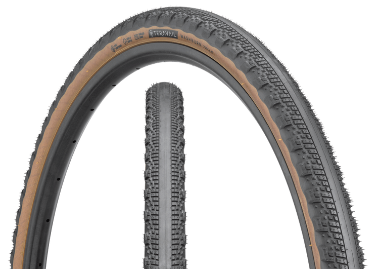 The Washburn is Teravail's Fastest Rolling Gravel Tire