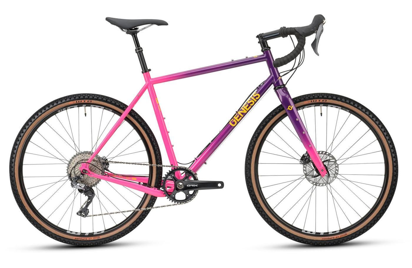 Genesis 2021 Fugio 30 Gravel Bike Sports a Flashy Paint Job on a Reynolds 725 Tubeset