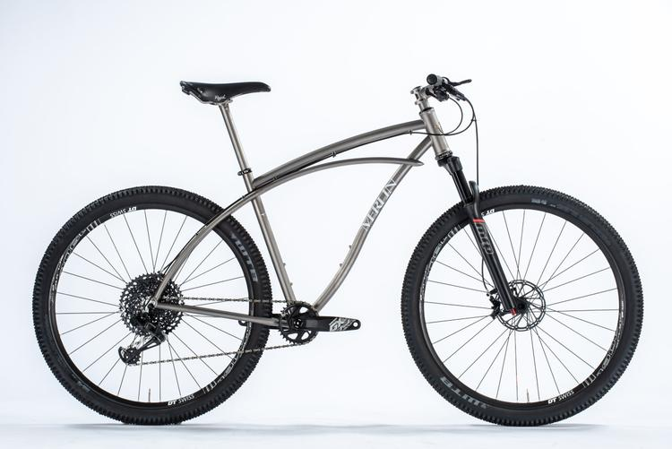 Merlin Announces the Limited Edition Titanium Newsboy MTB Frame