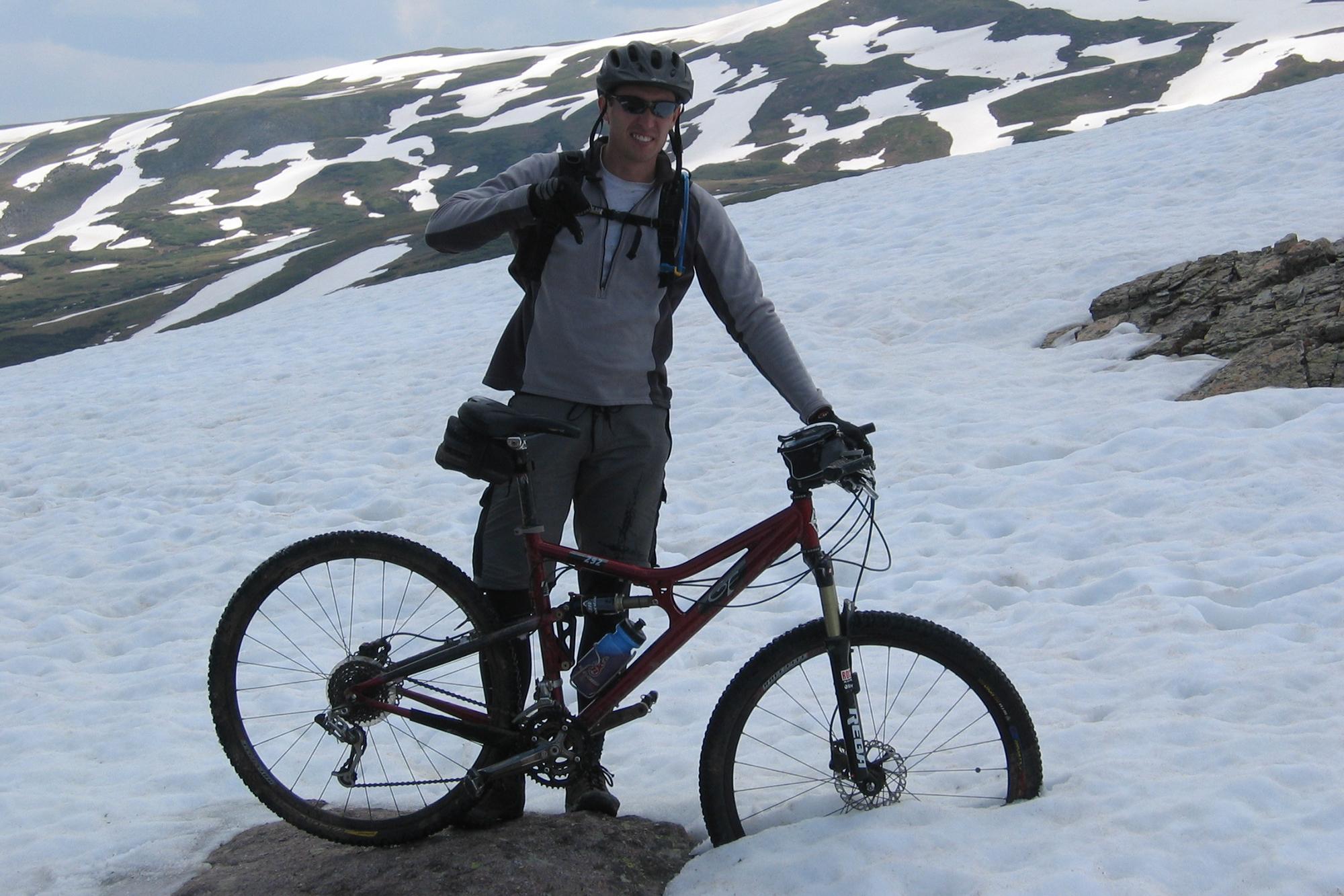 2005 - CT Snow at Searle Pass