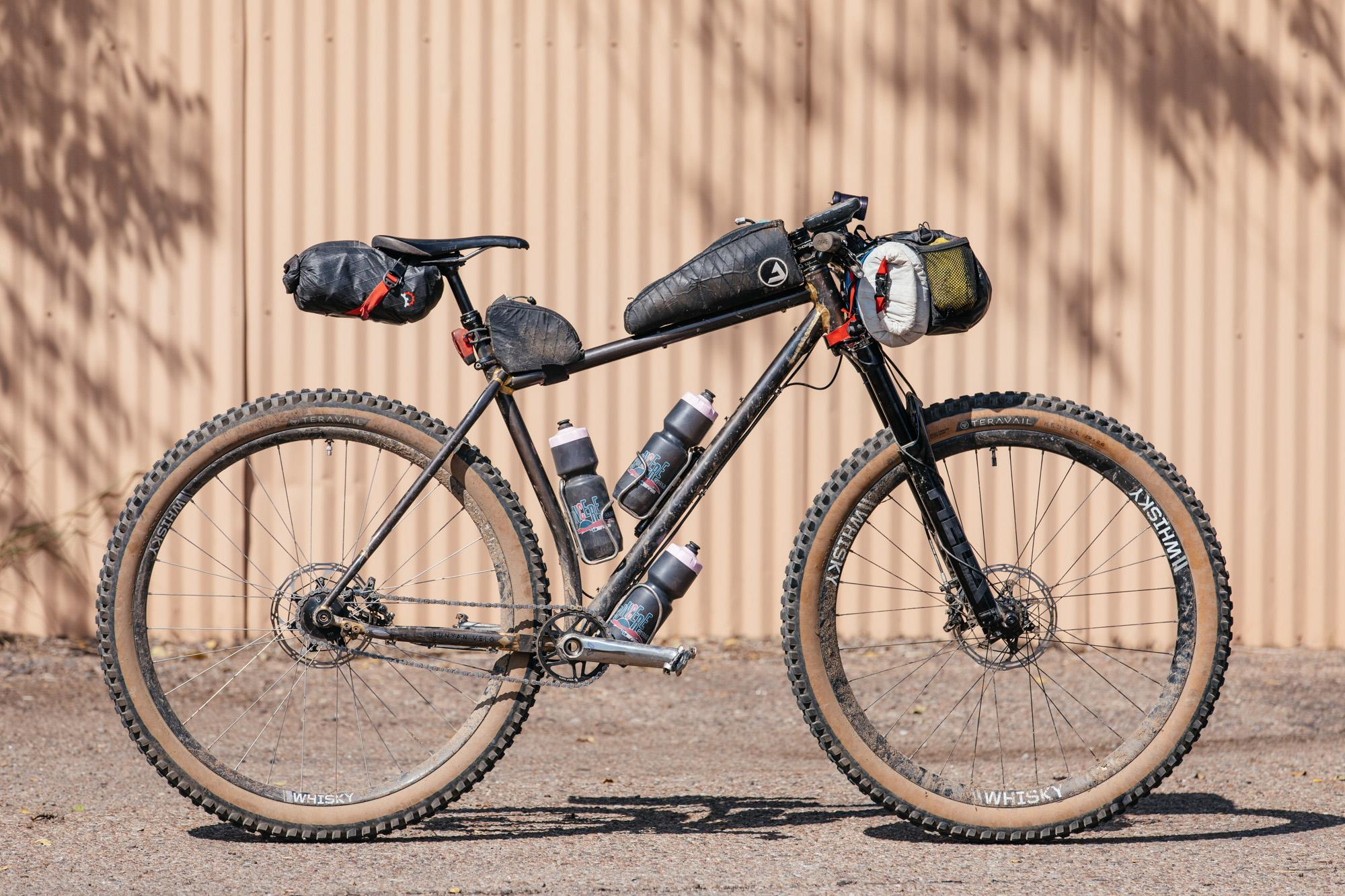 Bailey's Custom Moné Loaded for Three Days on the CDT-1