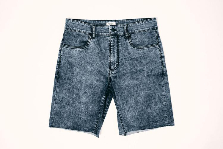 Ripton's New Black Acid Jorts