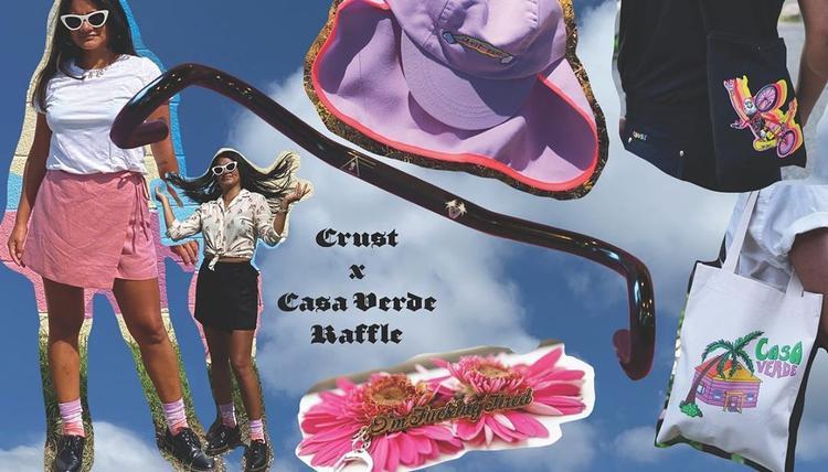 Crust Bikes x Casa Verde Raffle