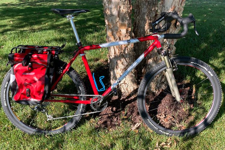 Readers' Rides: Kane's 1996 Race Bontrager Tourer