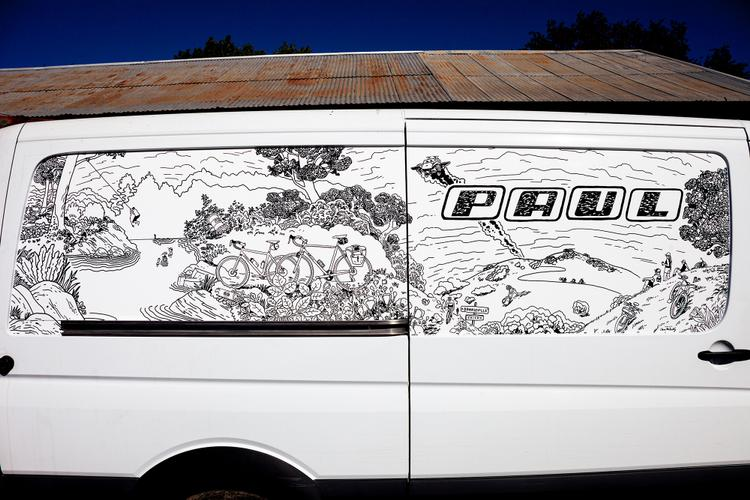 A Look at Paul Component Engineering's New Sprinter Van Wrap by Chris McNally
