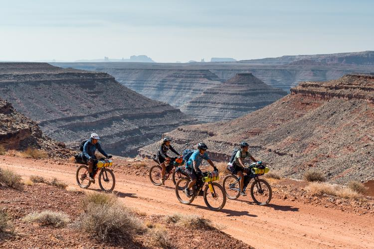 Dzil Ta'ah Adventure's Navajo Youth Bikepacking Adventure Series:  John's Canyon