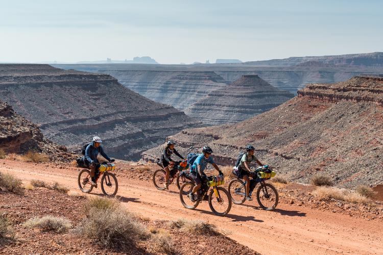 Dzil Ta'ah Adventure's Navajo Youth Bikepacking Adventure Series:  John's Canyon