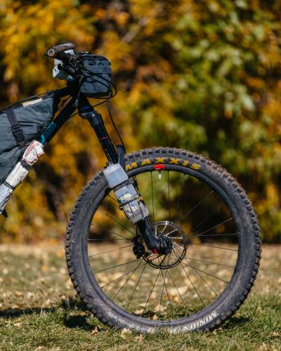 Kyle From Outer Shell's 160mm Travel Falconer Hardtail