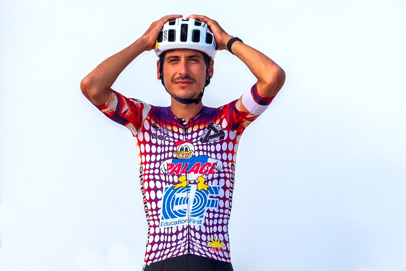Rapha's EF Pro Cycling Collaboration with Palace Skateboards is INSANE