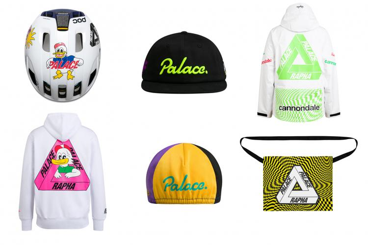 The Rapha and Palace Collection Will Be Available This Friday