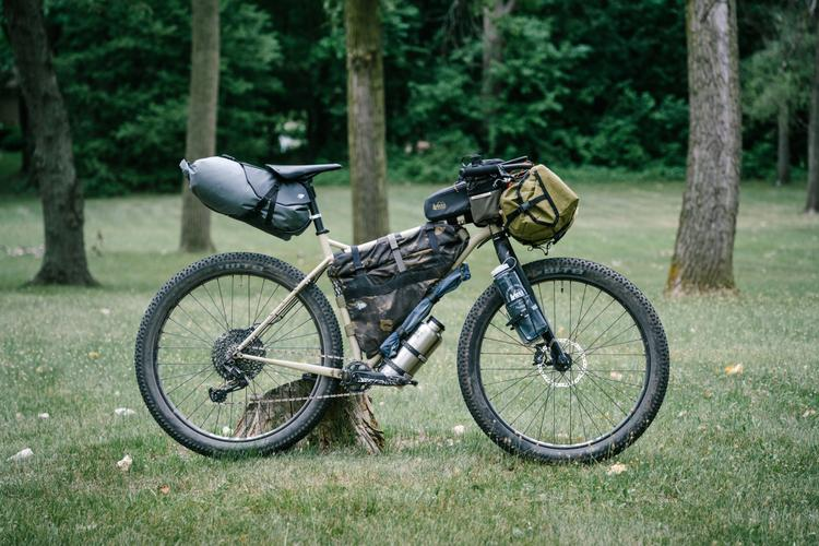 Bike-Camping Along Michigan's North Country Trail on the Bombtrack Beyond+ ADV
