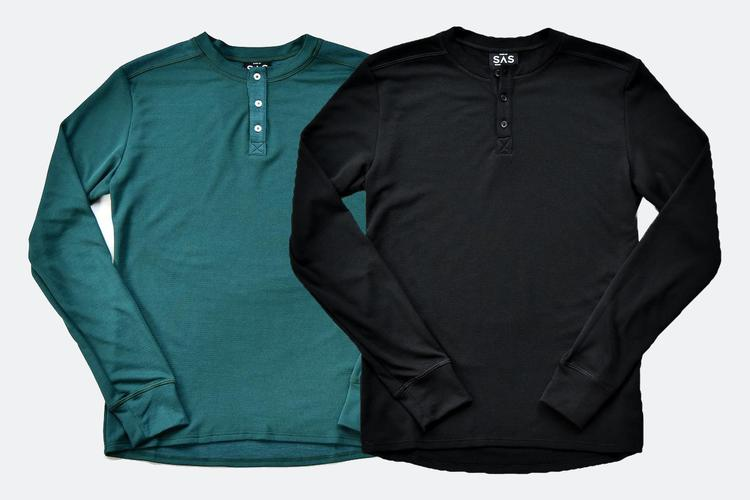 Search and State's New Merino Henleys Are in Stock!