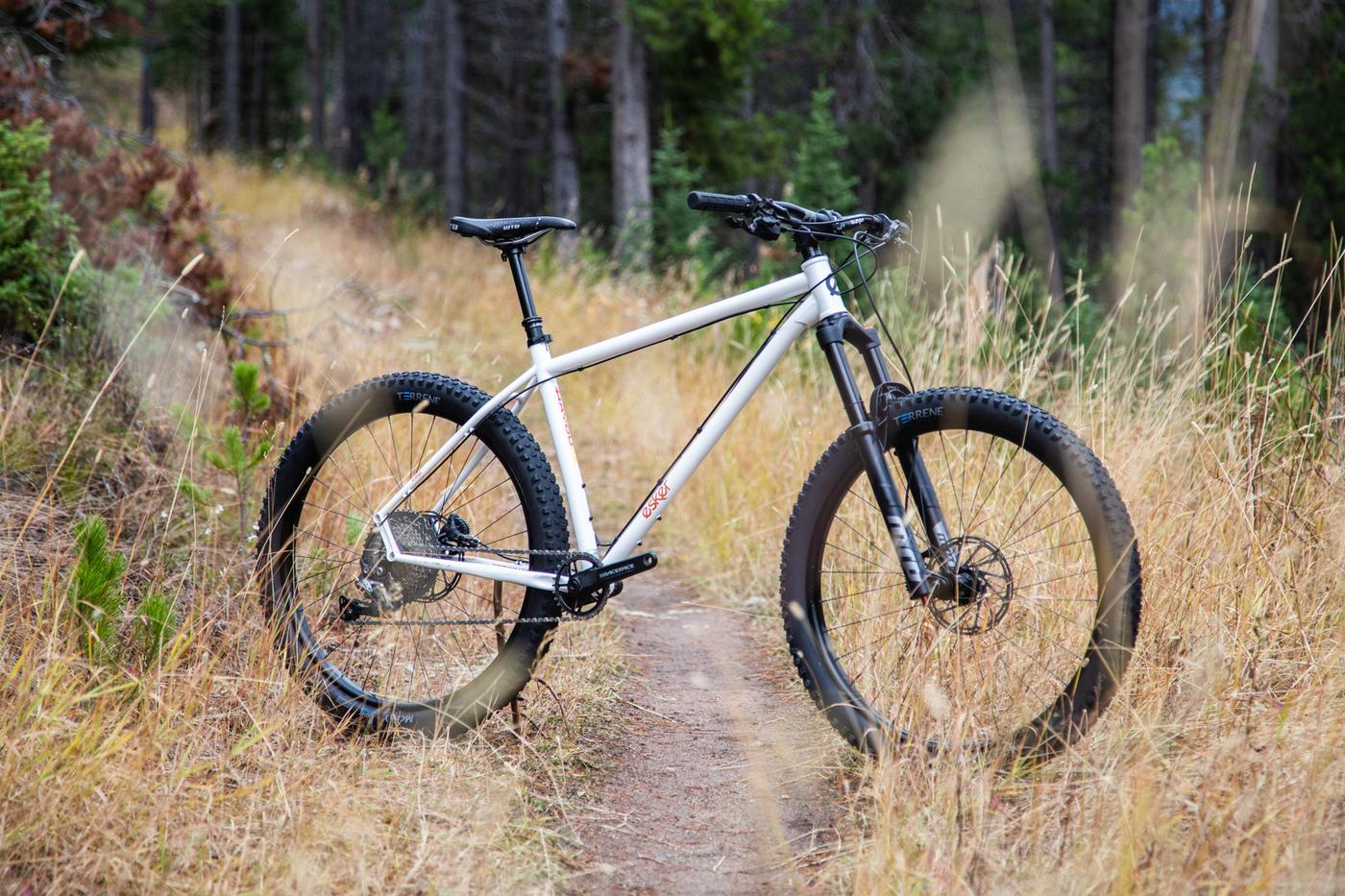 The Esker Hayduke is Back in Stock with a New Fork Spec