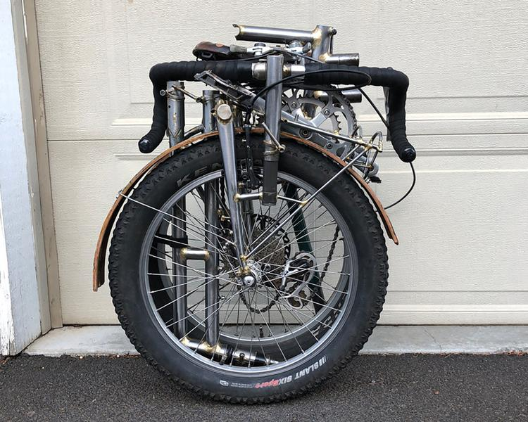 Readers' Rides: Drew Devereux's Homemade Folding All-Road Bike
