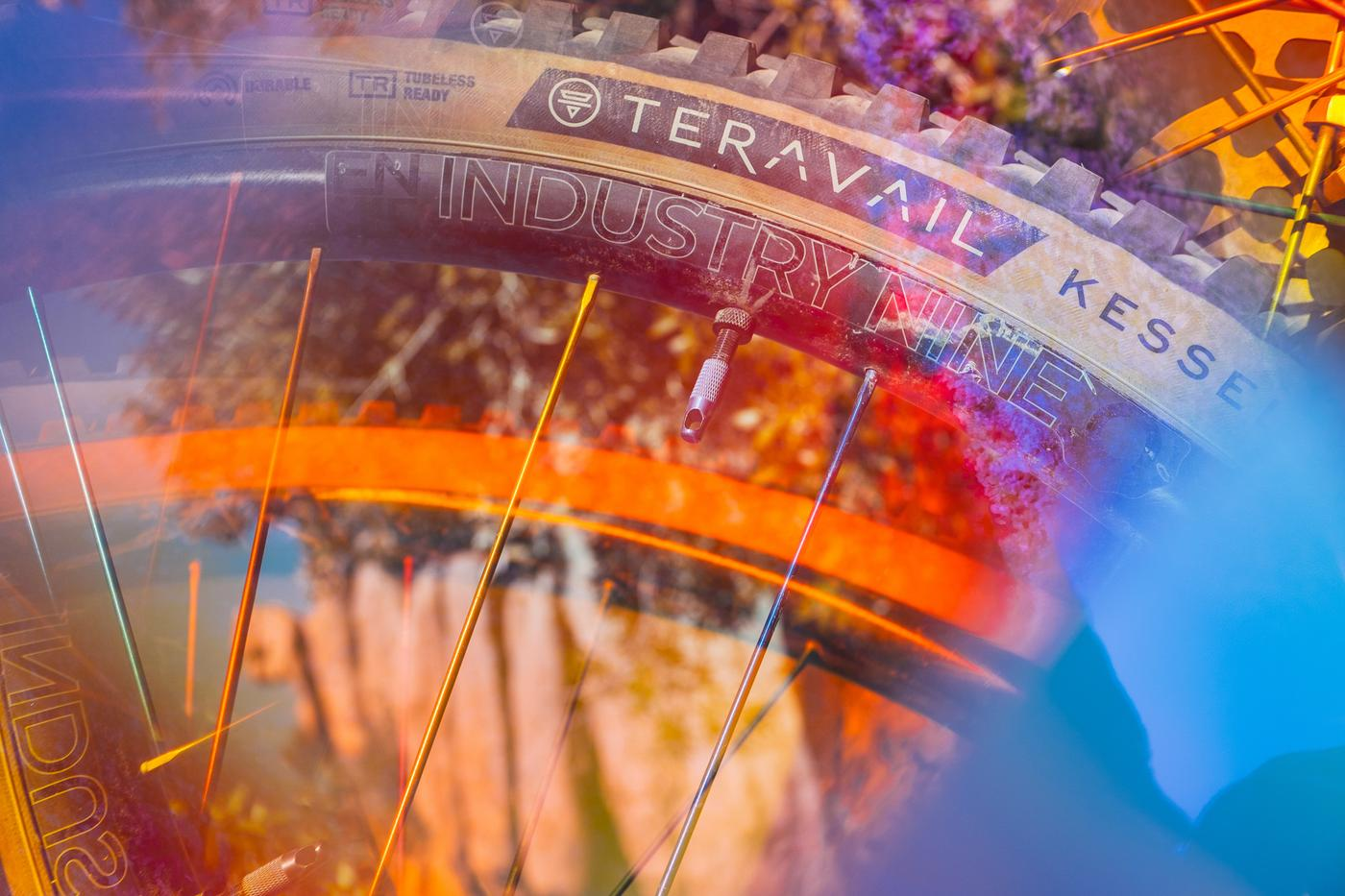 Ride The Rainbow: Industry Nine's New Carbon Rims by We Are One Composites