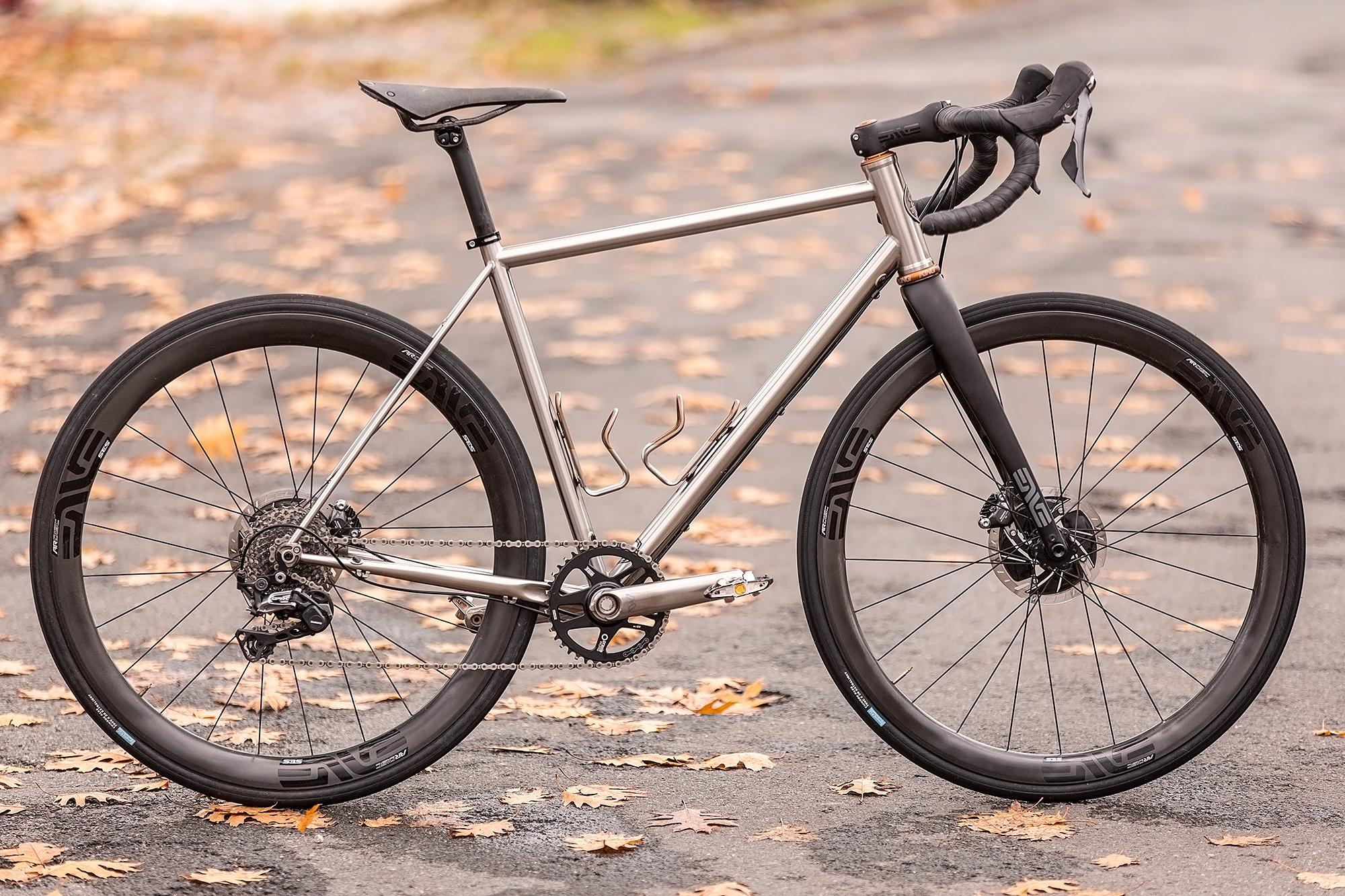 Julien's 2-11 Cycles MR4 Stainless Steel Gravel Bike
