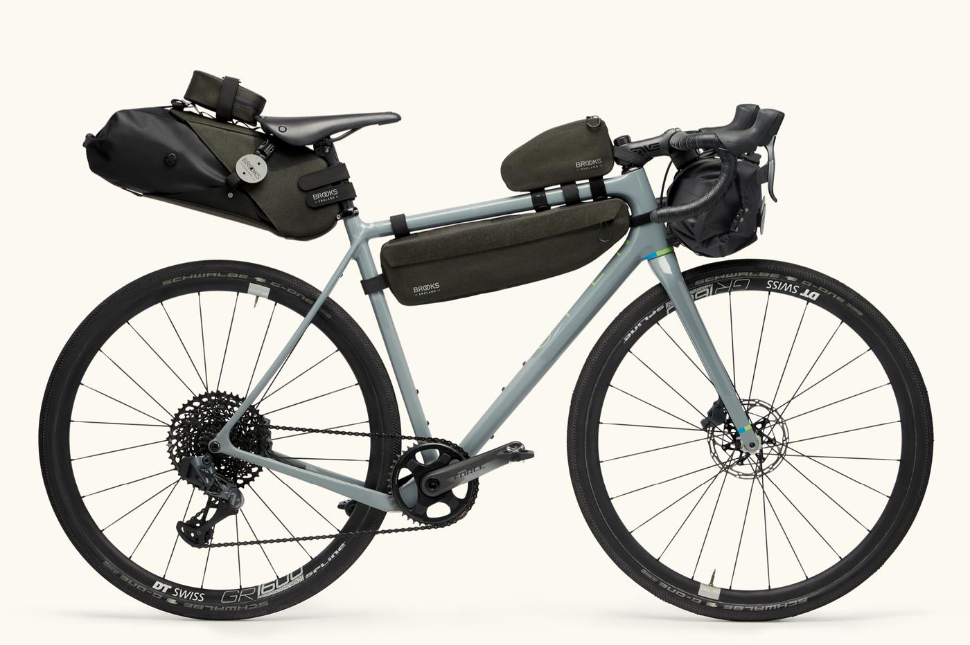 Brooks England Announces Their Bicycle Touring Bags: Scape