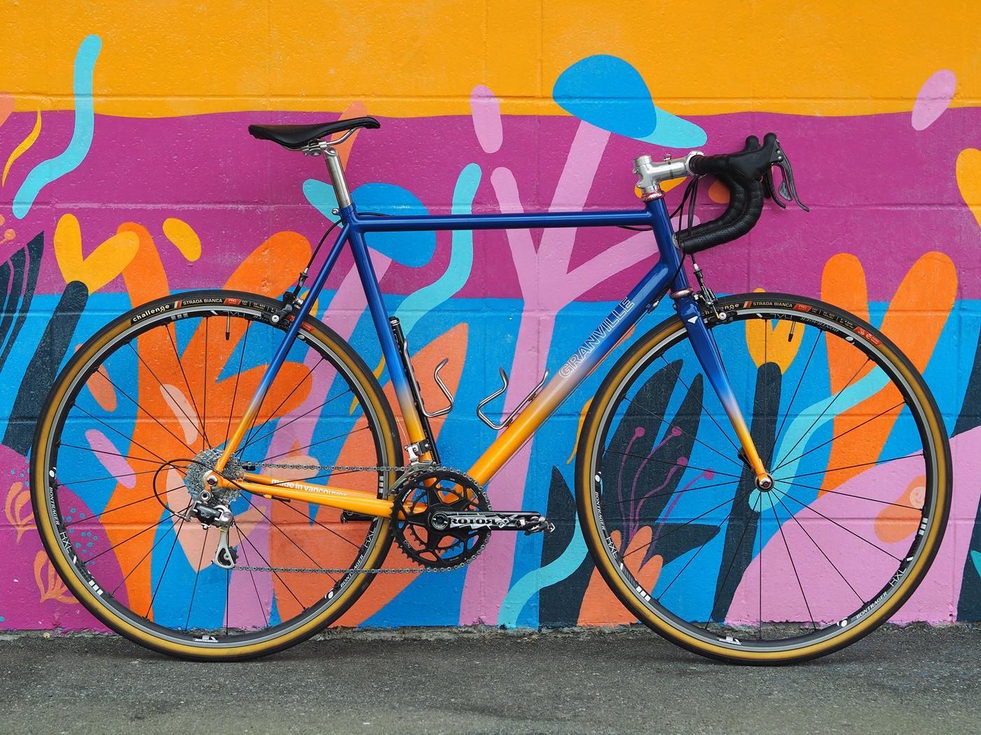 Readers' Rides: Michael's Granville Burly Road Sunset Fade