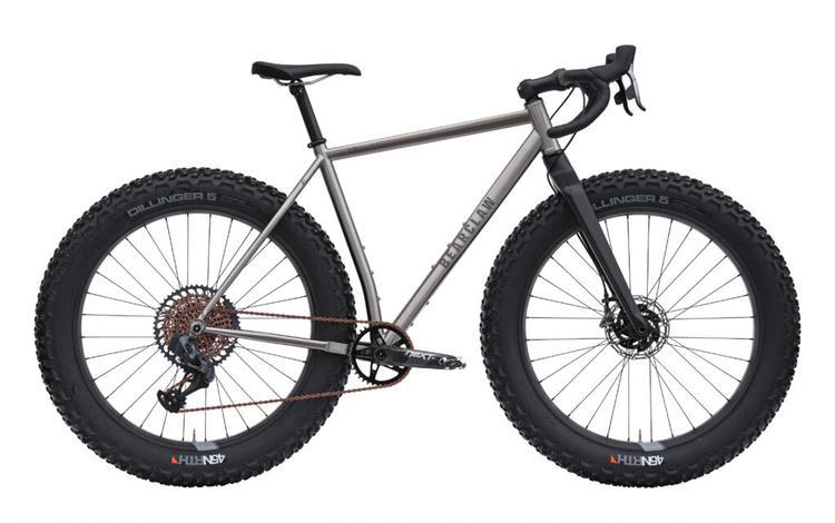 The Bearclaw Bicycle Co TŌWMAK is a Drop Bar Fat Bike