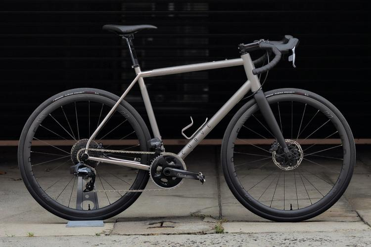Curve Cycling's New and Improved Belgie Ultra Ti All-Road Endurance Bike