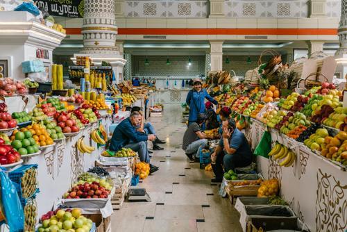 Bazaar life in the big city