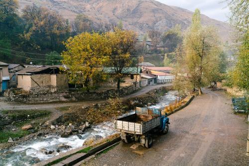 Tajik villages are the best...