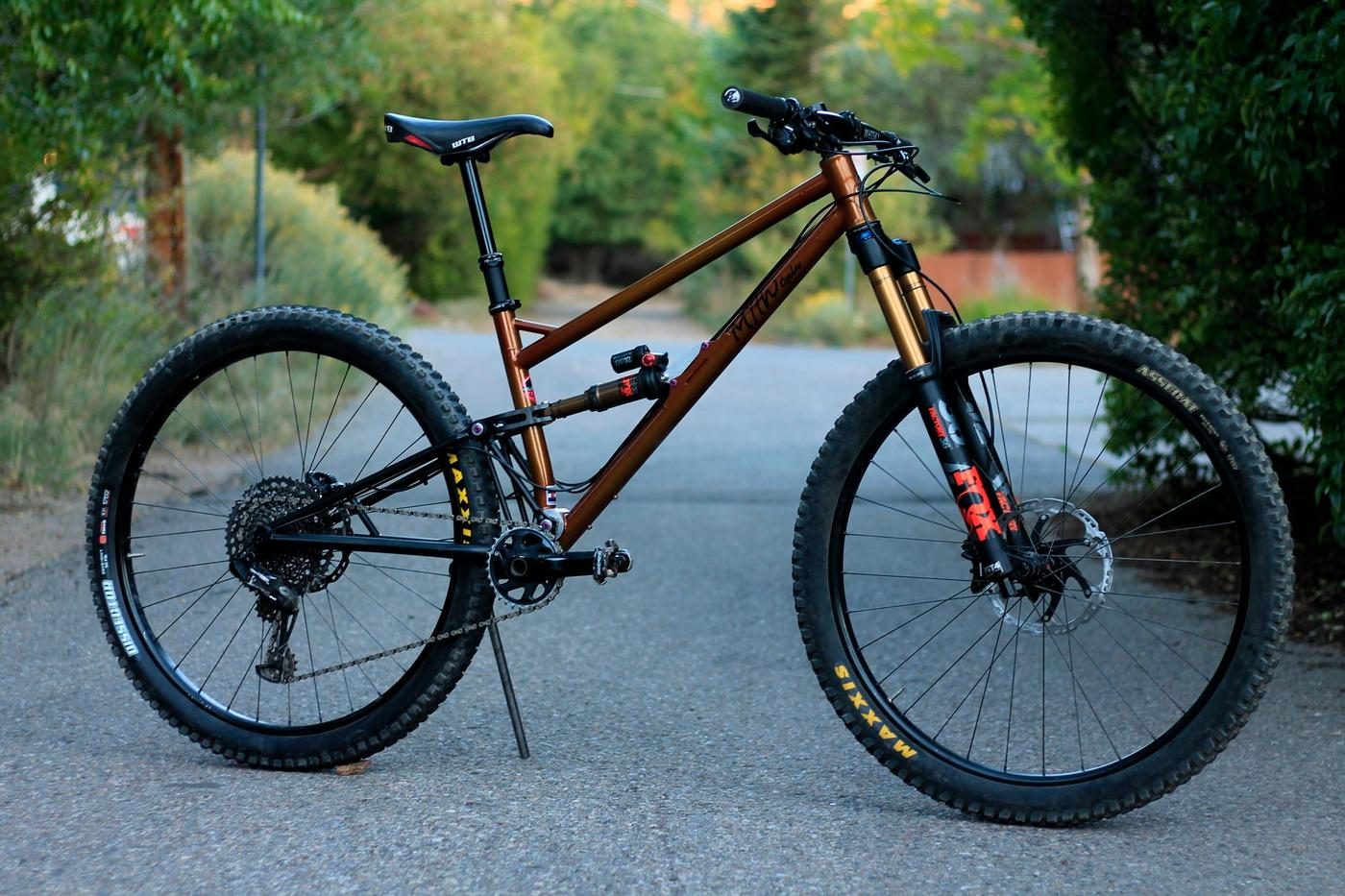 The Myth Cycles Zodiac is a Colorado-Made Steel Full Suspension MTB