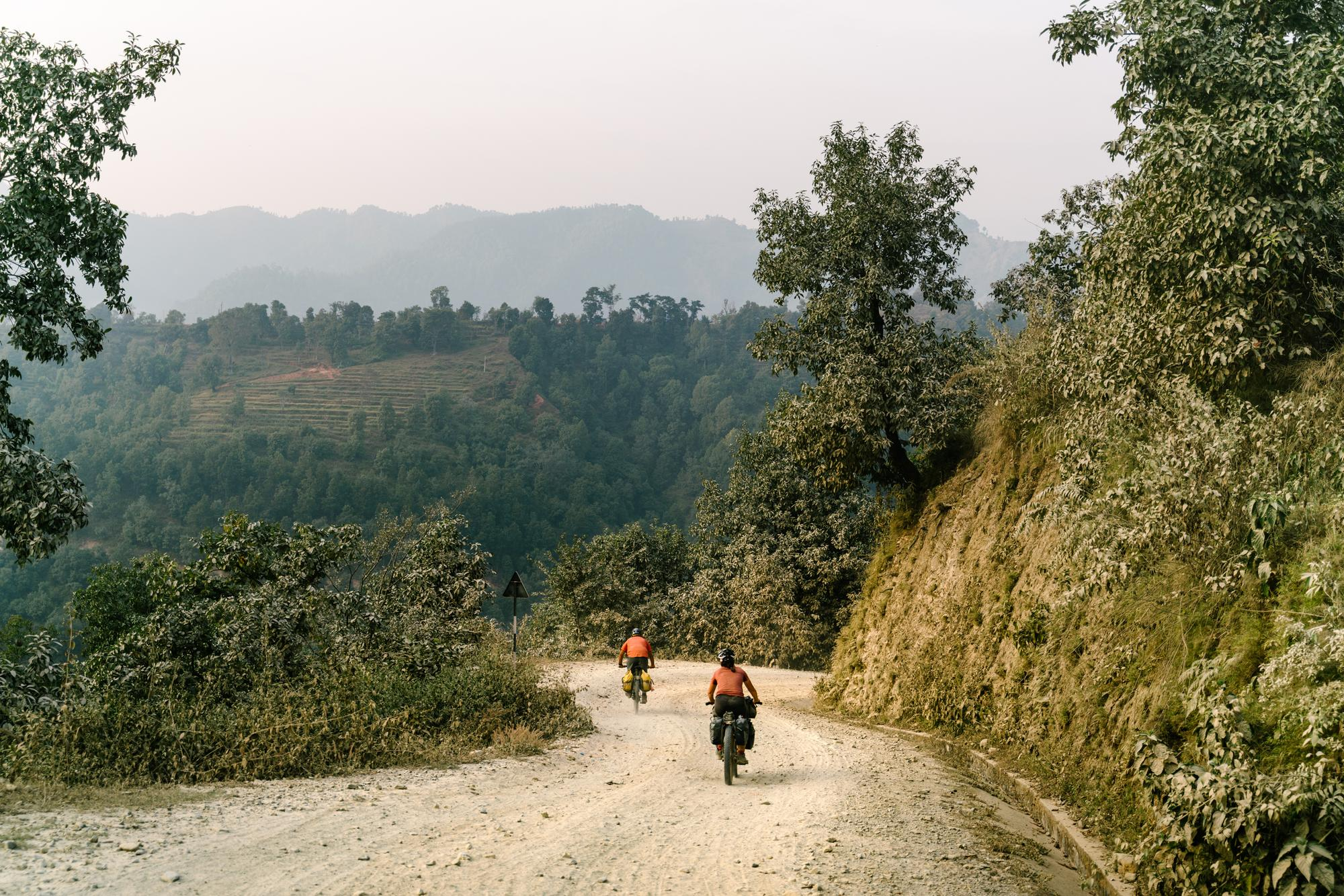 The climbs last hours, the descents... minutes