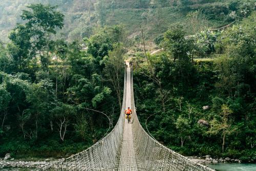 ...and the always entertaining Nepali bridges