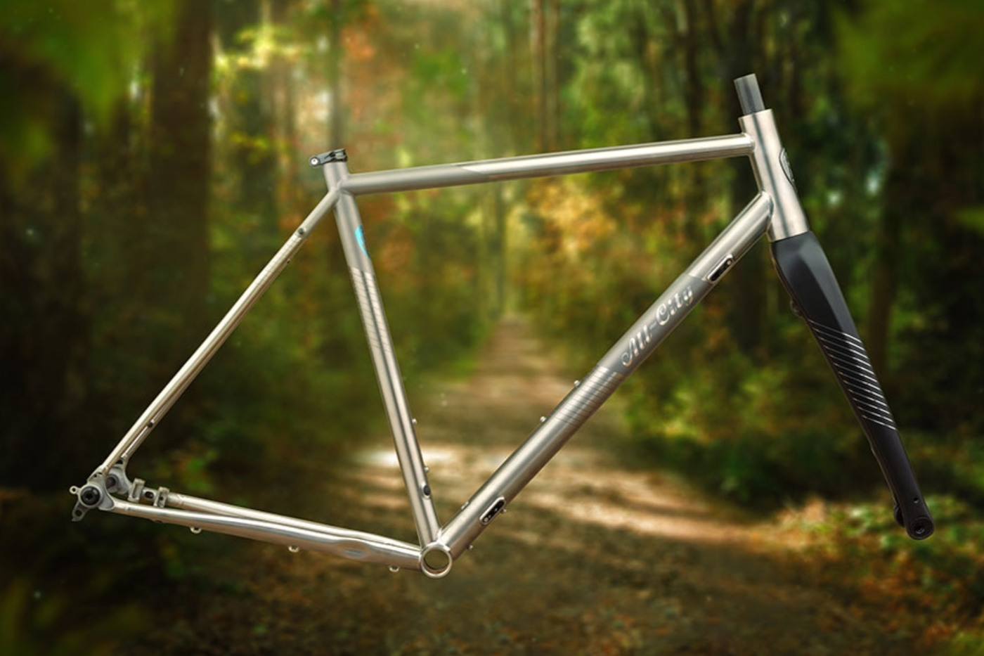 Behold the All-City Cosmic Stallion… in Titanium!