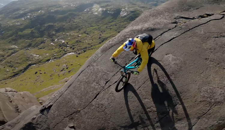 Danny MacAskill Takes on the Dubh Slabs