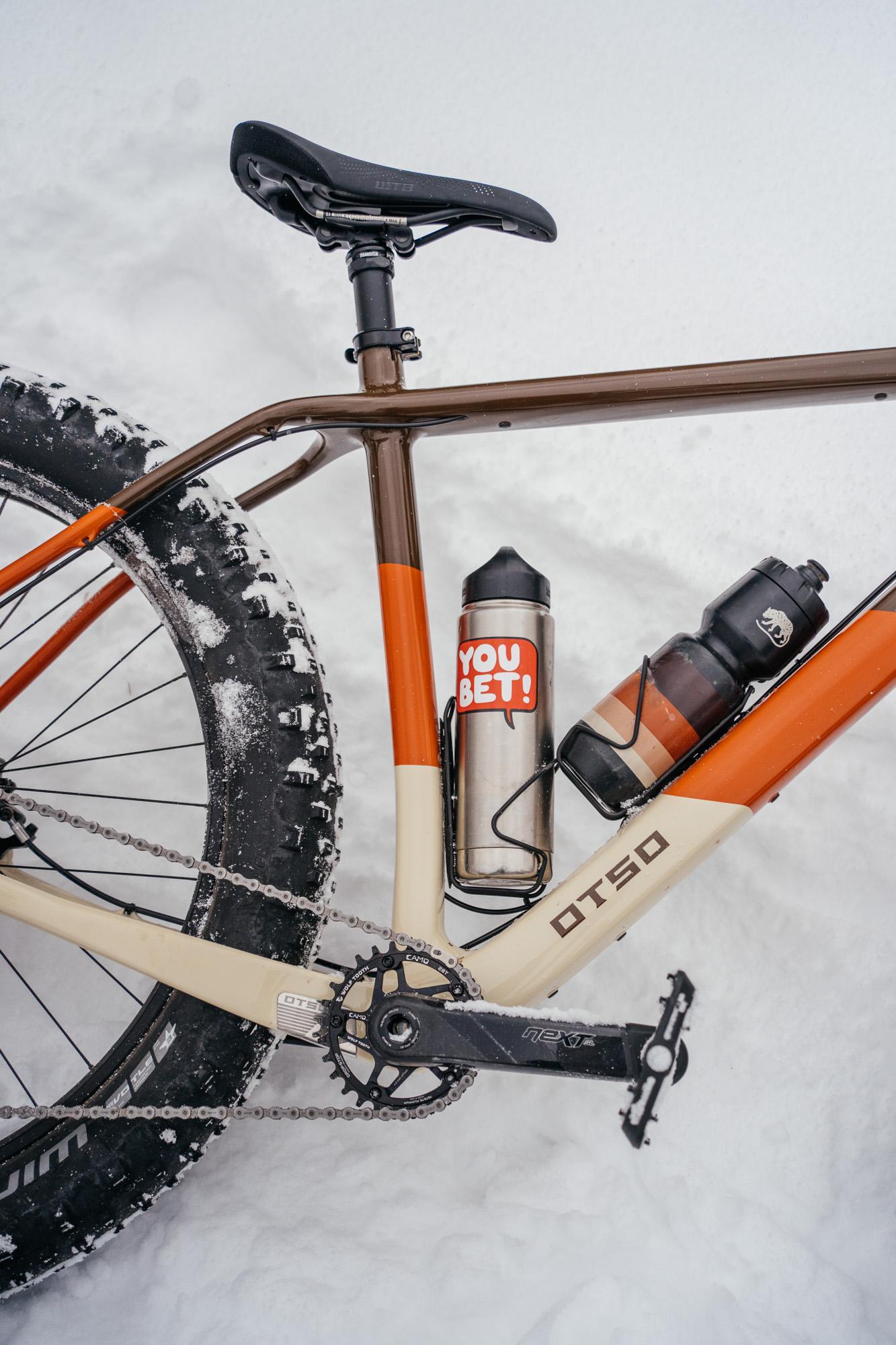 My bike matches my bottle