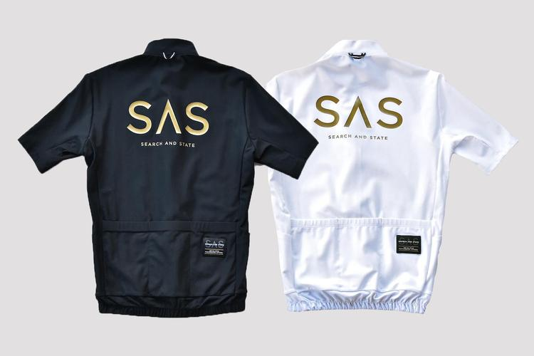 Search and State: Gold Logo S2R Road Jerseys