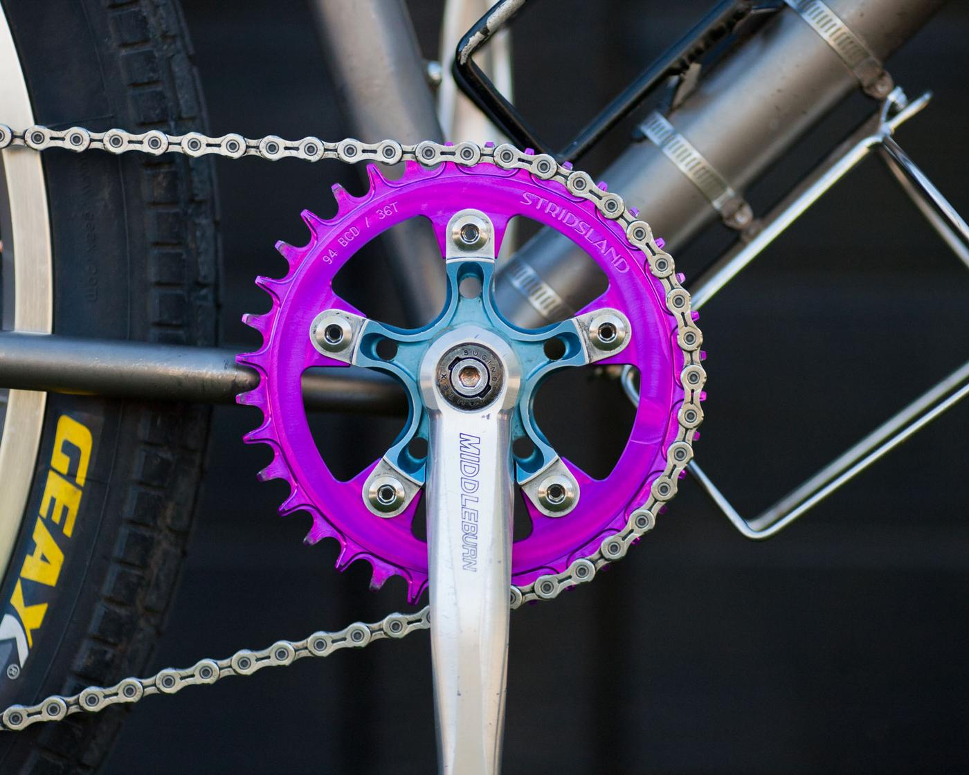 Stridsland: 94 bcd Narrow Wide Chainrings