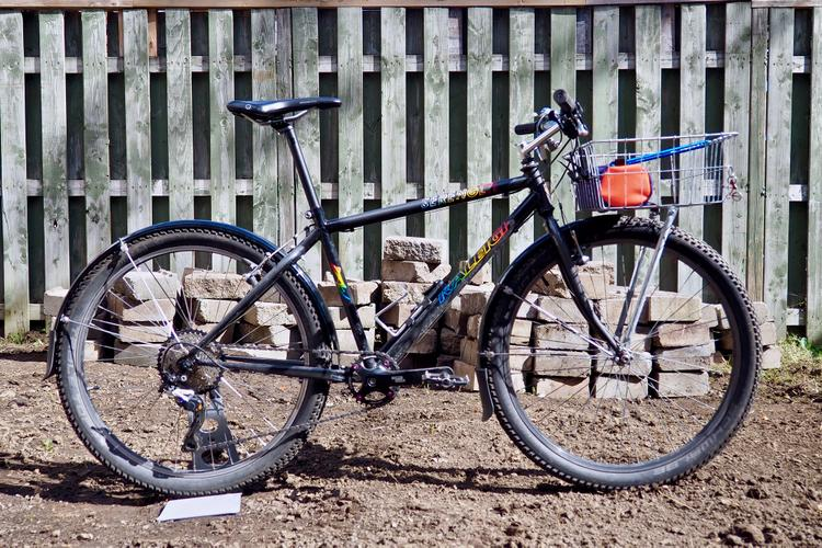 Readers' Rides: Danny's Raleigh Serengeti Basket Bike