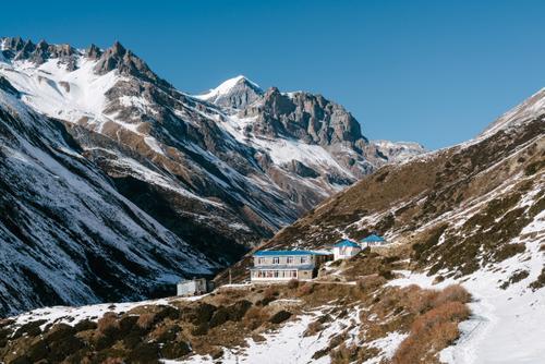 Through picturesque villages