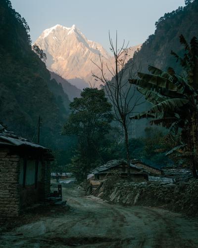Dusty villages