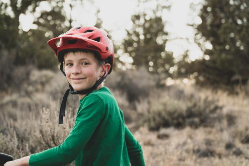 Parenting by Bike: A Boy Named Max