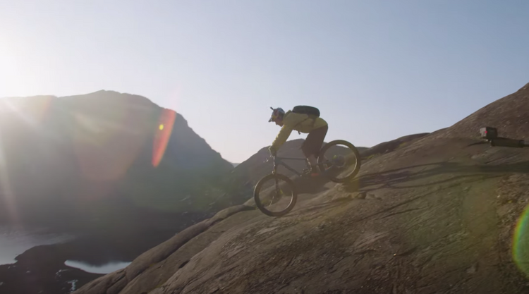 "BTS of Danny MacAskill's ""the Slabs"""