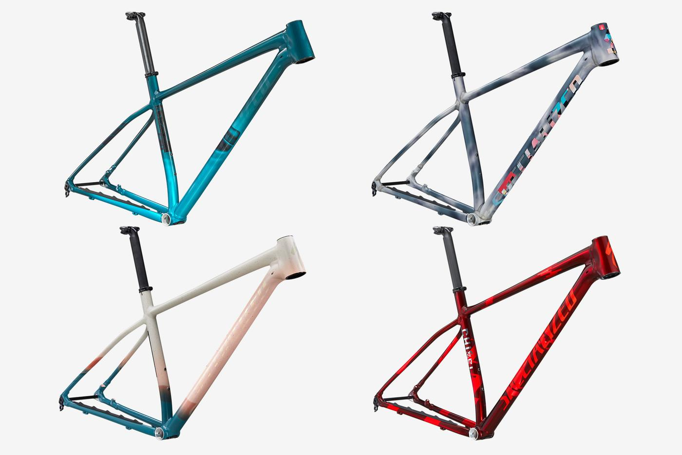 Specialized: Disrupt the Decay – Chisel LTD Frameset in Earth, Wind, Fire, and Water