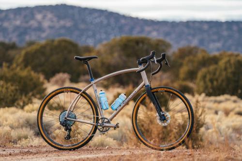 Titanium Retrotec with ENVE Foundation Gravel Wheels