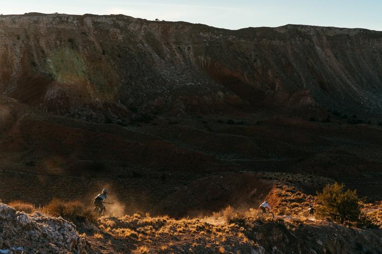 San Ysidro Anticline: Riding the Folds of the White Ridge Mountain Bike Trails